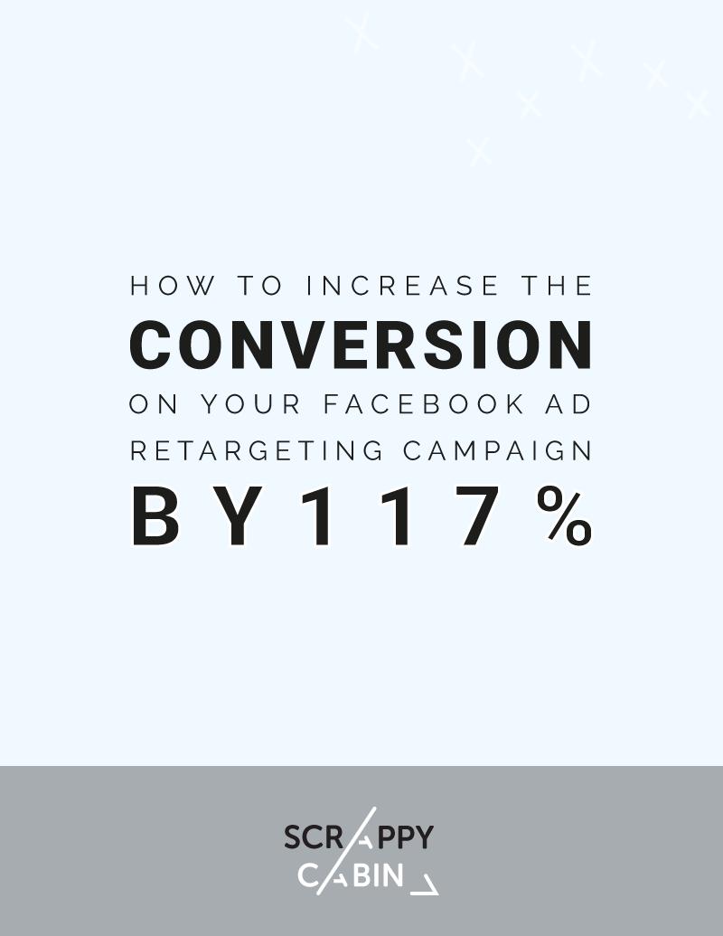 Facebook retarging campaign 117percent